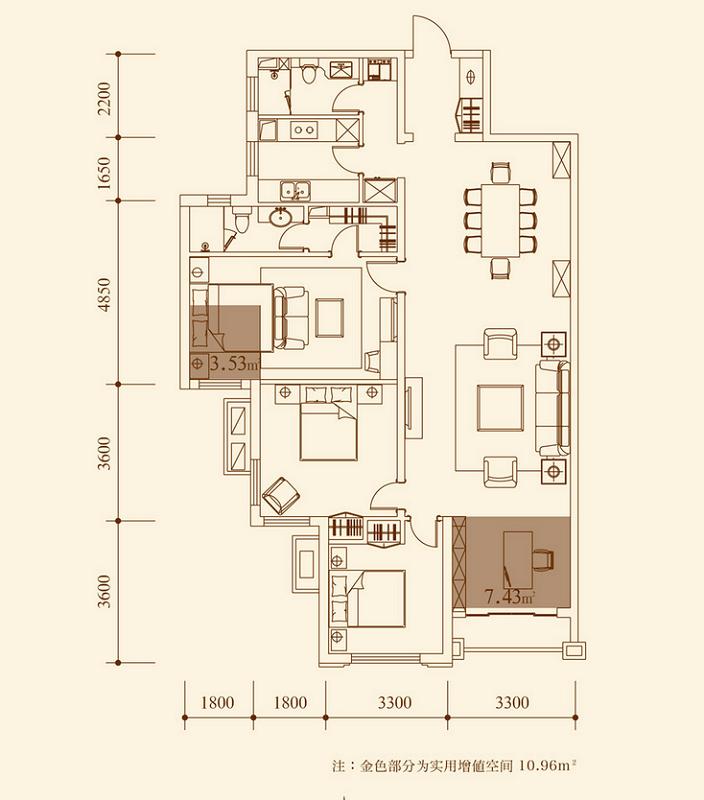 户型 户型图 平面图 704_800