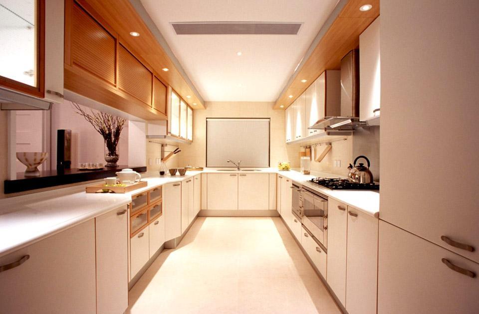 欧式敞开式 厨房 装修 效果图 装修 效果图 X团装高清图片