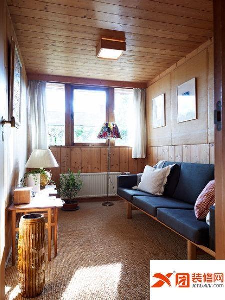 实木简约别墅 设计师的温馨家装设计