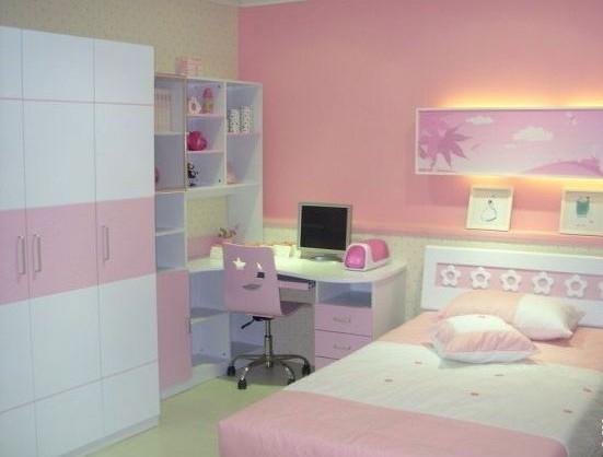 打造粉嫩小公主儿童房装修