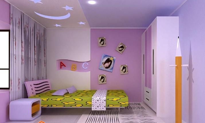 温馨可爱儿童房间装修效果图
