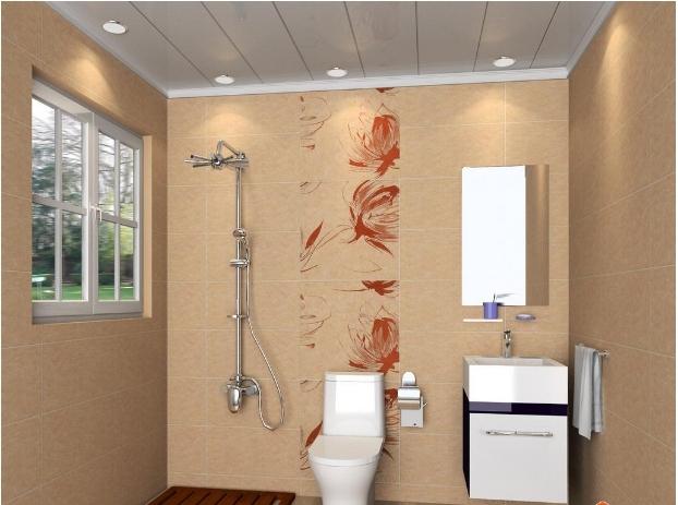 现代简约卫生间房屋效装修效果图