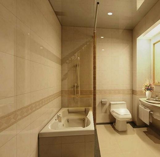 地中海卫浴家庭室内装修效果图
