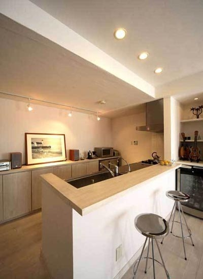 美式风格吧台室内装修效果图图片
