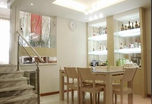 中式风格酒柜家庭室内装修