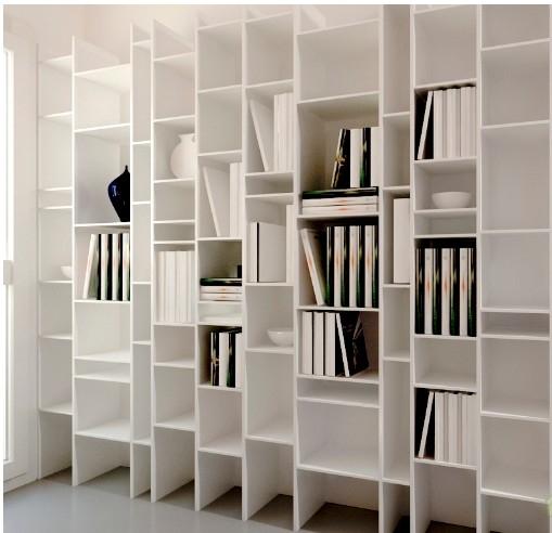 欧式书柜装修设计图片