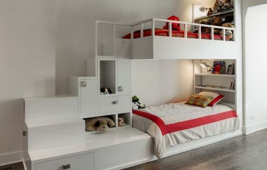 儿童床图片 儿童房装修效果图