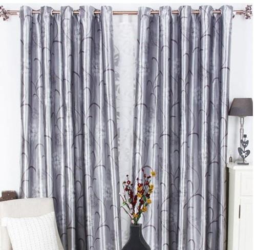 現代中式家居窗簾設計裝修效果圖