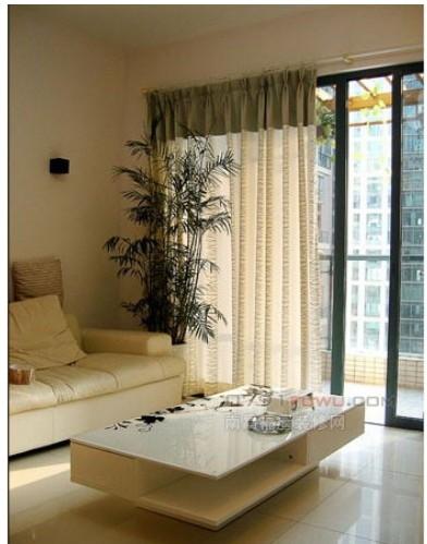 现代中式家居窗帘设计