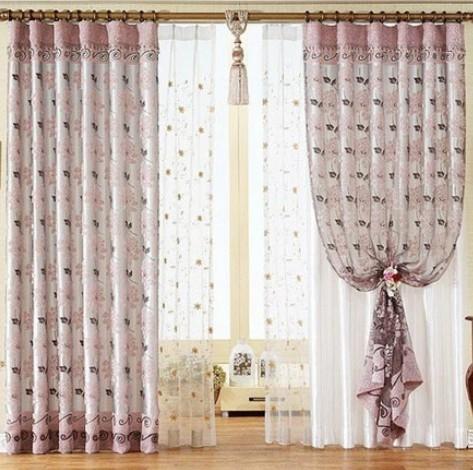 窗帘图片 客厅窗帘图片