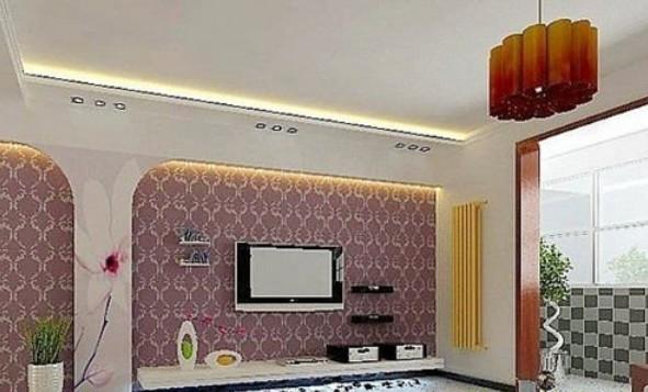 欧式风格影视墙装修设计图片
