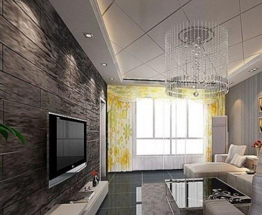 欧式风格影视墙装修设计