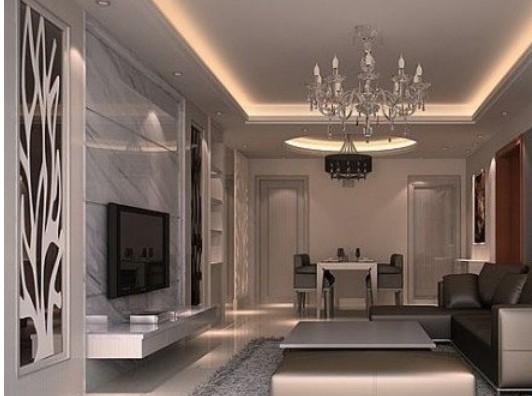 美式风格现代家居影视墙设计_装修效果图-x团装修网图片