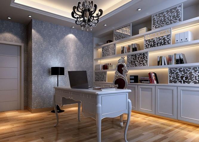89平小户型书房装修效果图