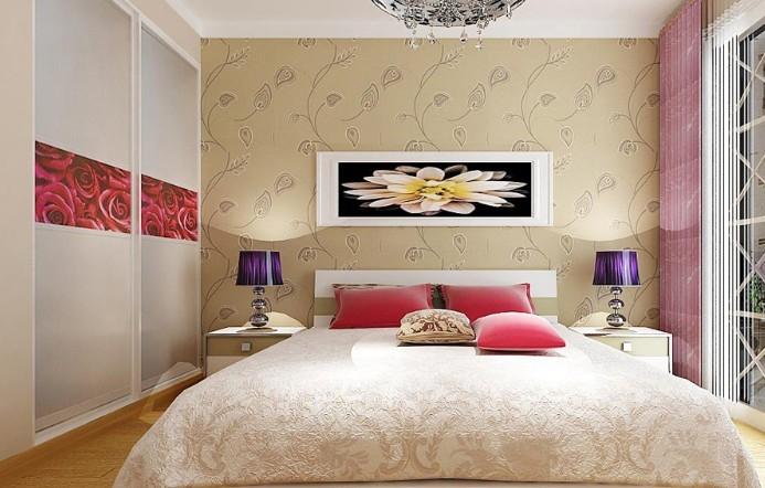 99平米简约主卧室设计装修效果图