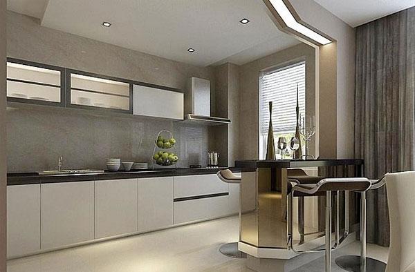 102平米简约厨房设计装修效果图
