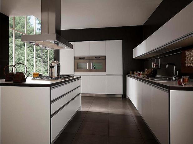 厨房橱柜装修效果图图片