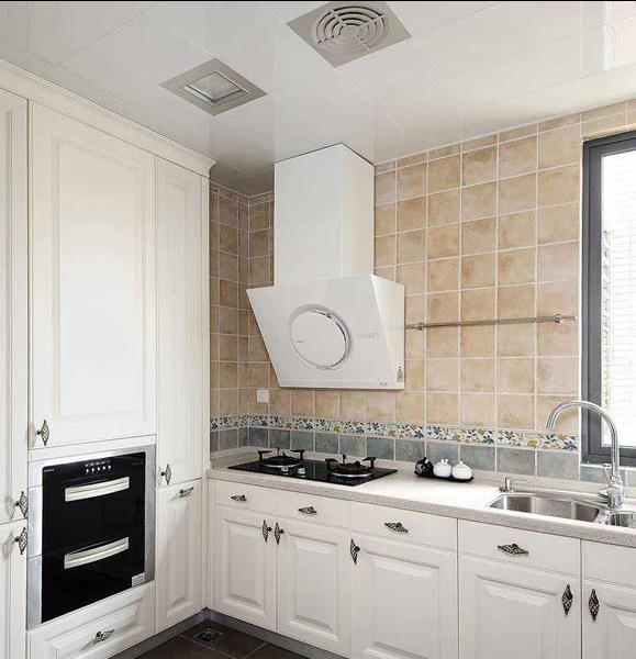 两居室橱柜装修设计效果图片