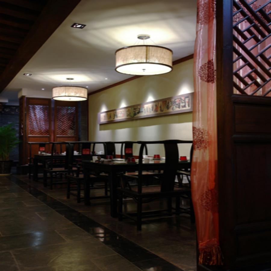 中式风格饭店设计装修效果图图片