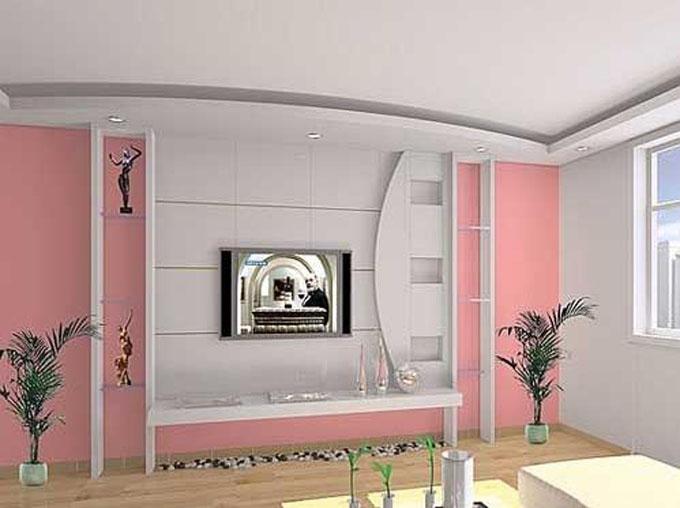 最新客厅吊顶装修设计_装修效果图