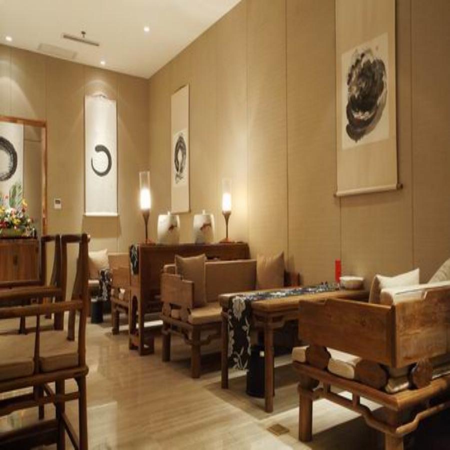 中式风格茶馆设计装修效果图图片