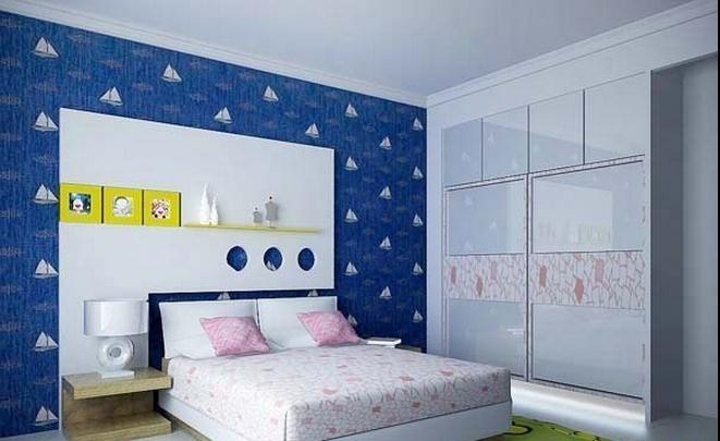 床头柜 地毯 床 衣柜装修效果图