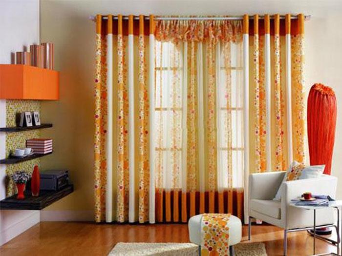两居室家居窗帘装修效果图