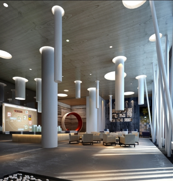售楼中心设计方案装修效果图