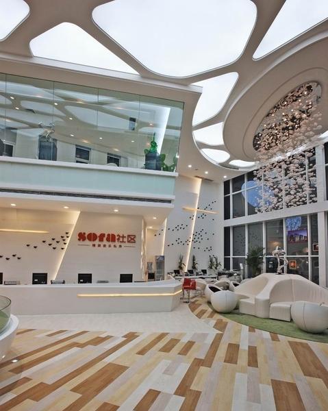 现代风格售楼中心装修效果图