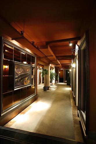 地下室咖啡廳改造方案裝修效果圖