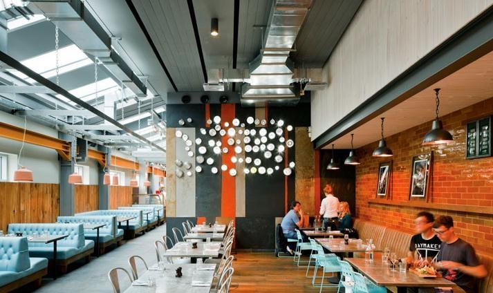 牛排餐厅设计效果图
