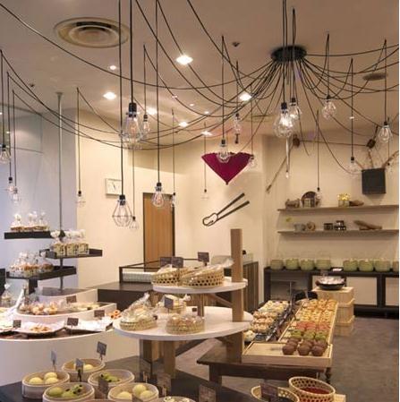 概念式蛋糕店设计图装修效果图