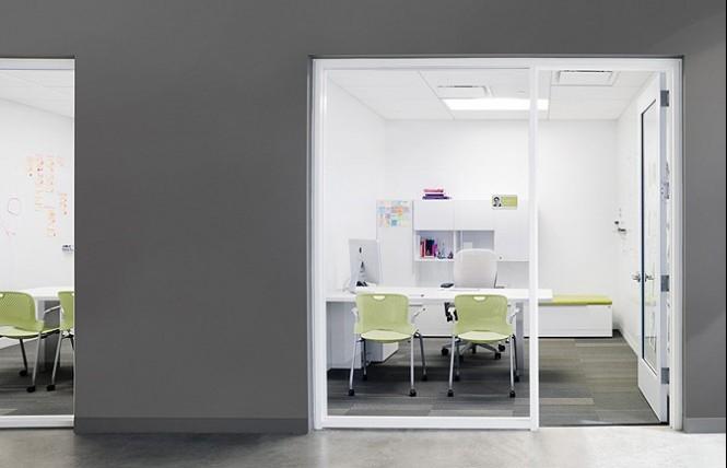 办公室装饰柜设计装修效果图