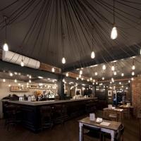 有创意的酒吧吊顶设计装修效果图