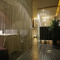 现代与泰式相融的美容spa设计装修效果图