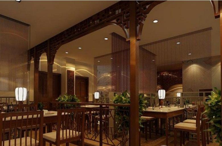 午后茶语打造中式茶馆装修效果图