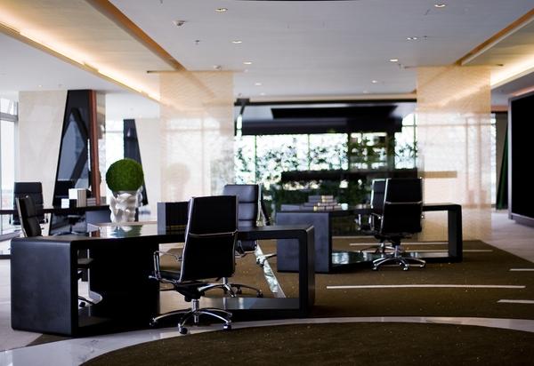 办公空间室内设计装修效果图