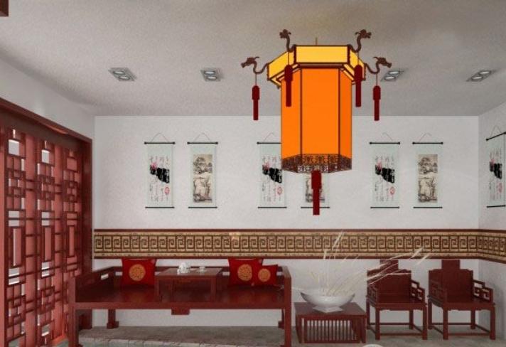碧翠茶庄中式茶馆装修效果图