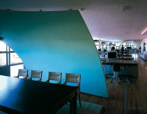 广告公司办公室装修效果图