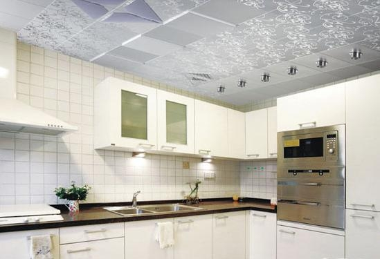 厨房集成吊顶美图装修效果图