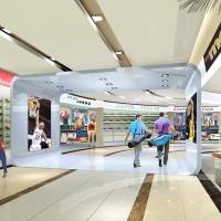 现代亮丽空间商场设计装修效果图