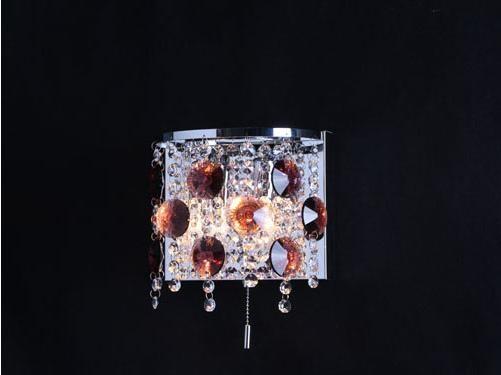 简约风格水晶壁灯装修效果图