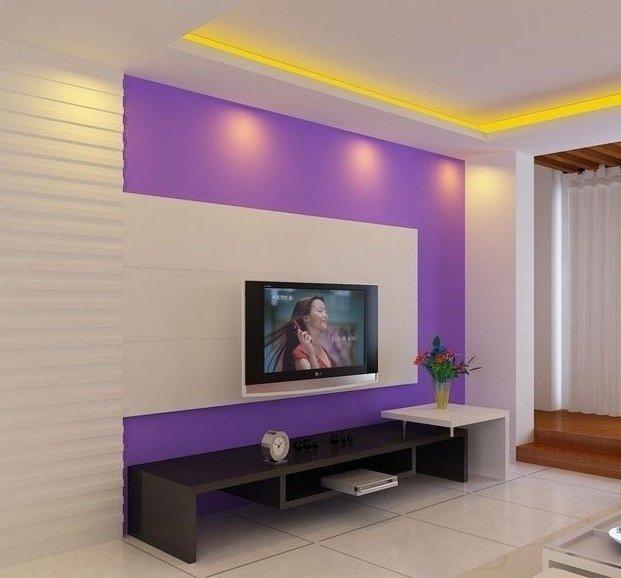影视墙 影视墙 家庭影视墙装修效果图