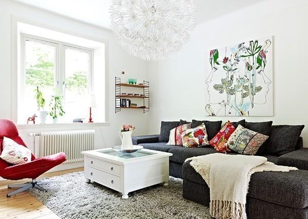 客廳沙發背景墻裝修效果圖