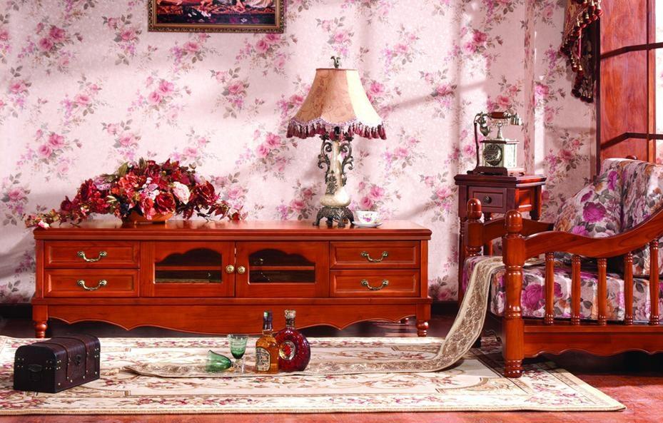 韩式风格电视柜欣赏装修效果图