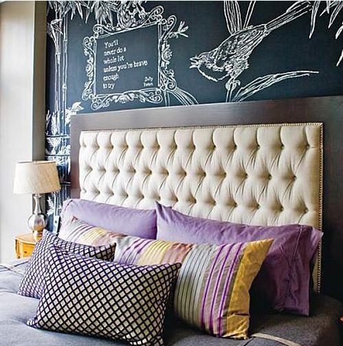 个性十足的卧室背景墙装修效果图