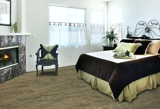 现代家装地板装修效果图