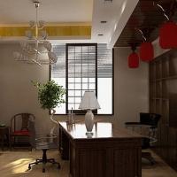 浓厚纯朴的古典茶馆设计装修效果图