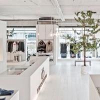 温馨室内 简约服装店装修效果图