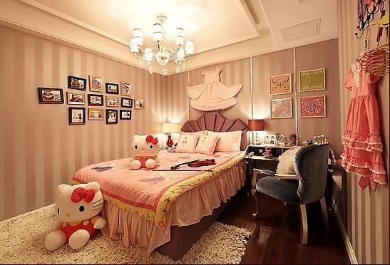 四居室简欧风格儿童房